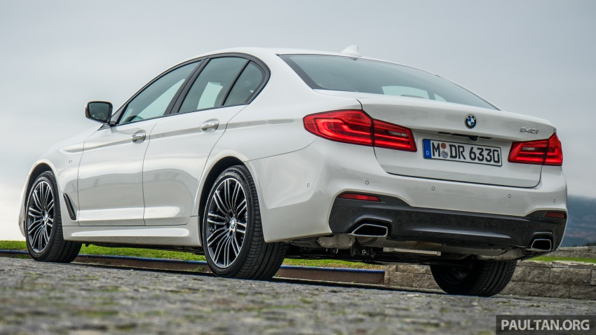 DRIVEN: G30 BMW 5 Series – raising the stakes again Image #632764