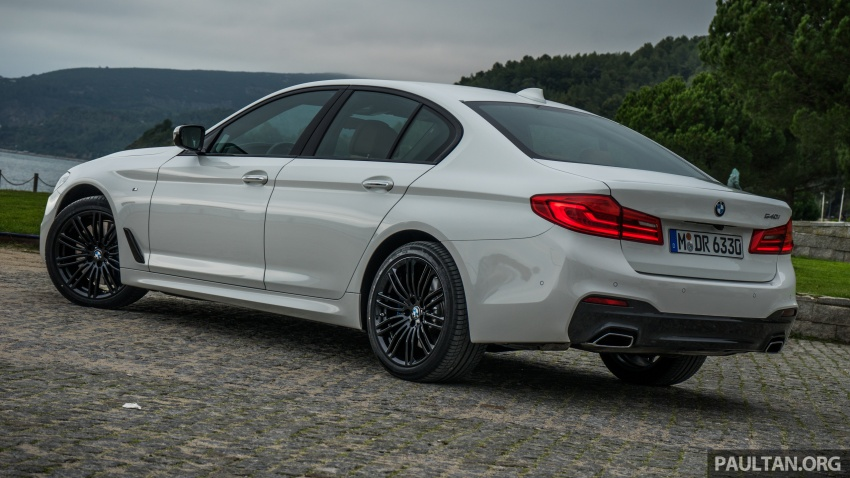 DRIVEN: G30 BMW 5 Series – raising the stakes again Image #632765