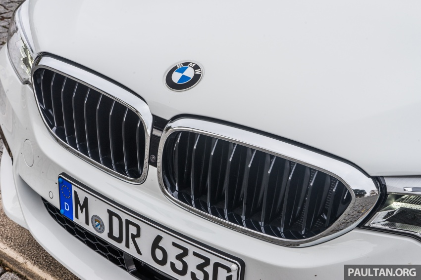 DRIVEN: G30 BMW 5 Series – raising the stakes again Image #632768