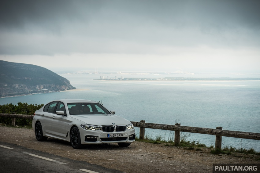 DRIVEN: G30 BMW 5 Series – raising the stakes again Image #632755