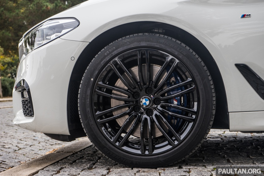 DRIVEN: G30 BMW 5 Series – raising the stakes again Image #632774