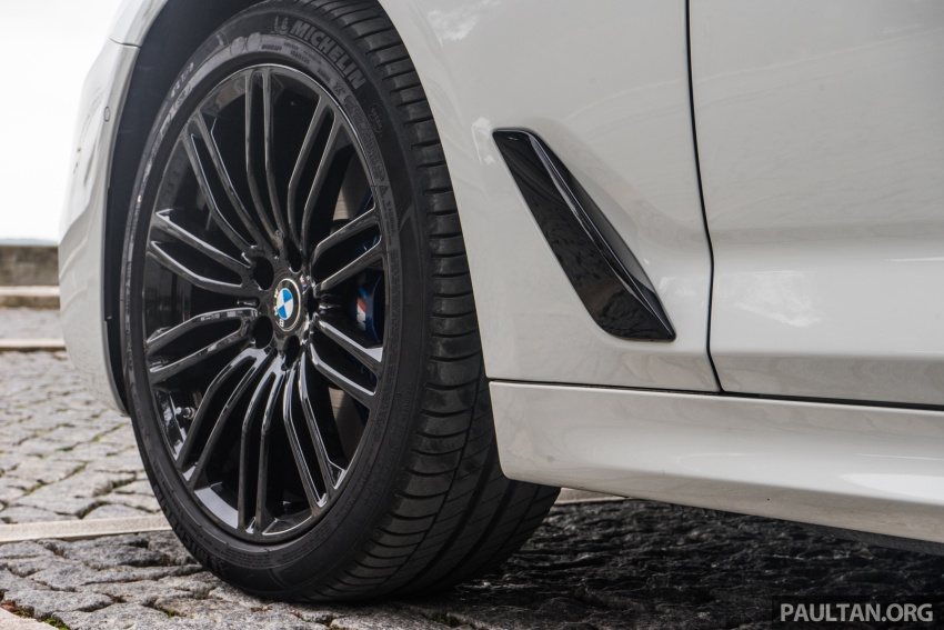 DRIVEN: G30 BMW 5 Series – raising the stakes again Image #632775