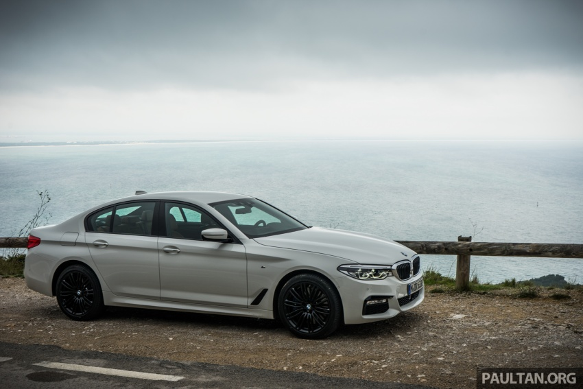DRIVEN: G30 BMW 5 Series – raising the stakes again Image #632756