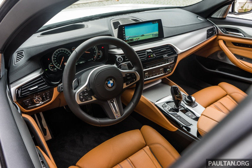 DRIVEN: G30 BMW 5 Series – raising the stakes again Image #632794