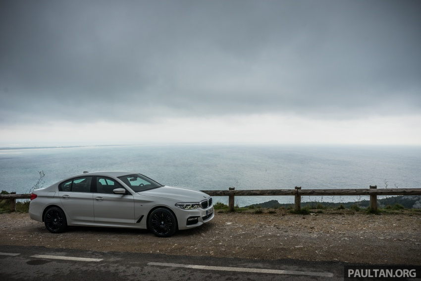DRIVEN: G30 BMW 5 Series – raising the stakes again Image #632757