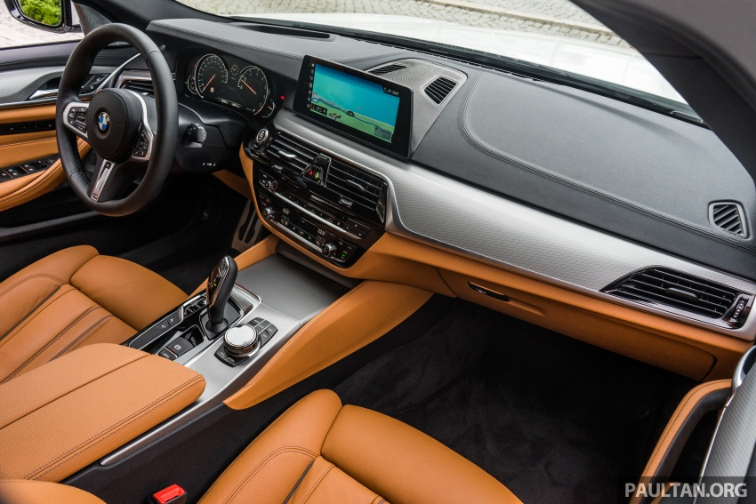 DRIVEN: G30 BMW 5 Series – raising the stakes again Image #632795