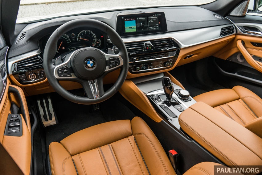 DRIVEN: G30 BMW 5 Series – raising the stakes again Image #632796
