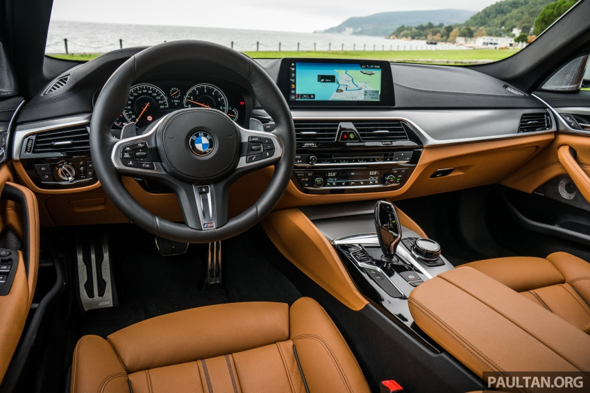 DRIVEN: G30 BMW 5 Series – raising the stakes again Image #632797