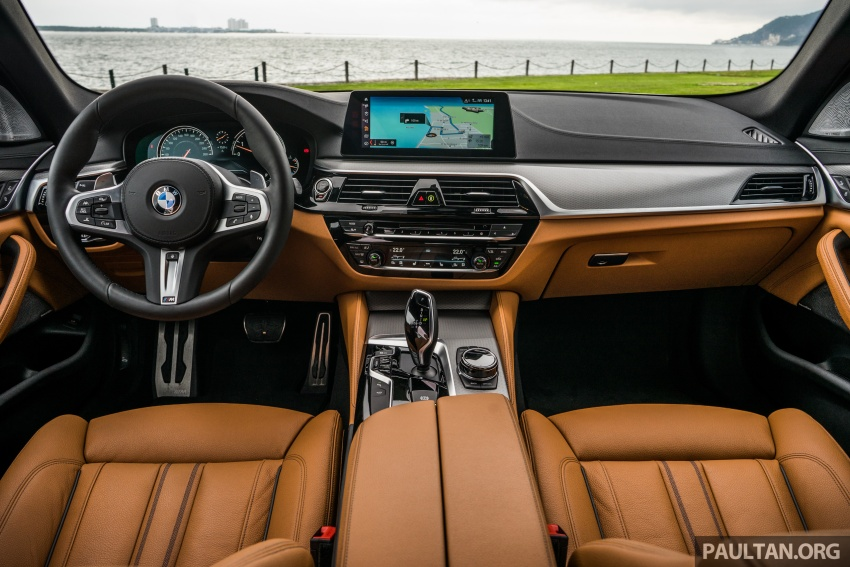 DRIVEN: G30 BMW 5 Series – raising the stakes again Image #632798