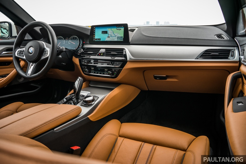 DRIVEN: G30 BMW 5 Series – raising the stakes again Image #632799
