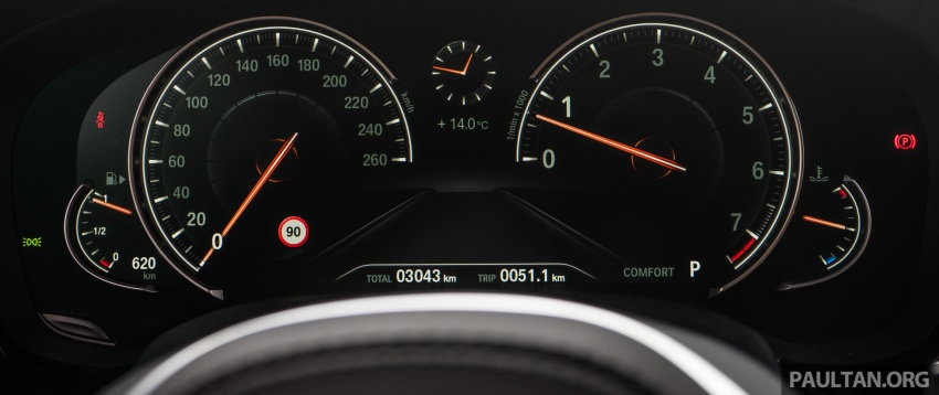 DRIVEN: G30 BMW 5 Series – raising the stakes again Image #632802
