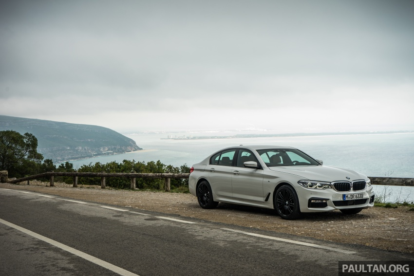 DRIVEN: G30 BMW 5 Series – raising the stakes again Image #632758
