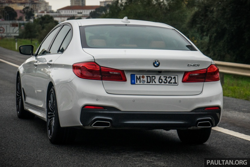 DRIVEN: G30 BMW 5 Series – raising the stakes again Image #632759