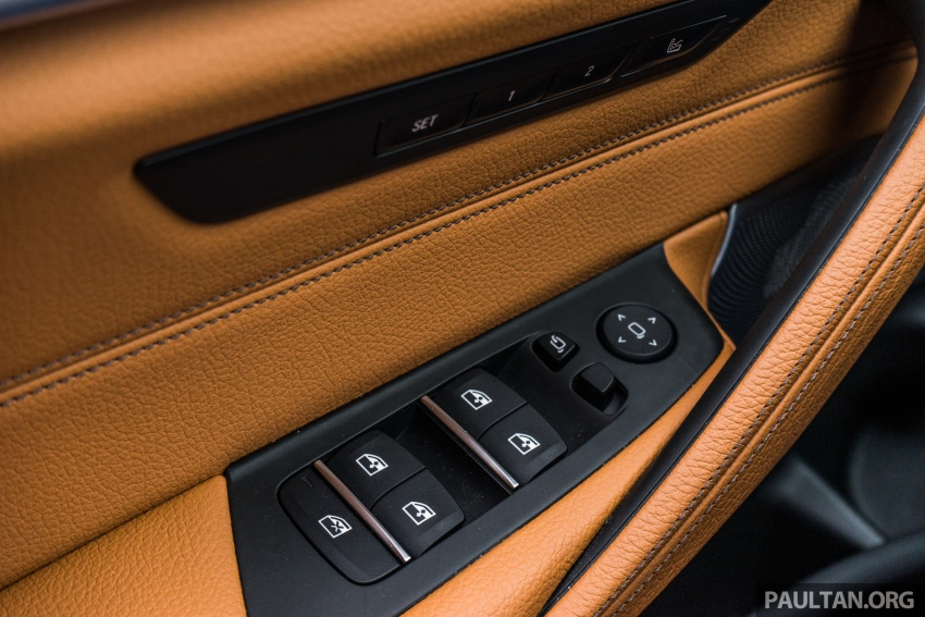 DRIVEN: G30 BMW 5 Series – raising the stakes again Image #632822