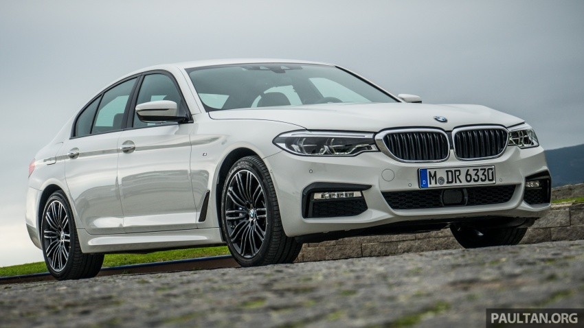 DRIVEN: G30 BMW 5 Series – raising the stakes again Image #632760