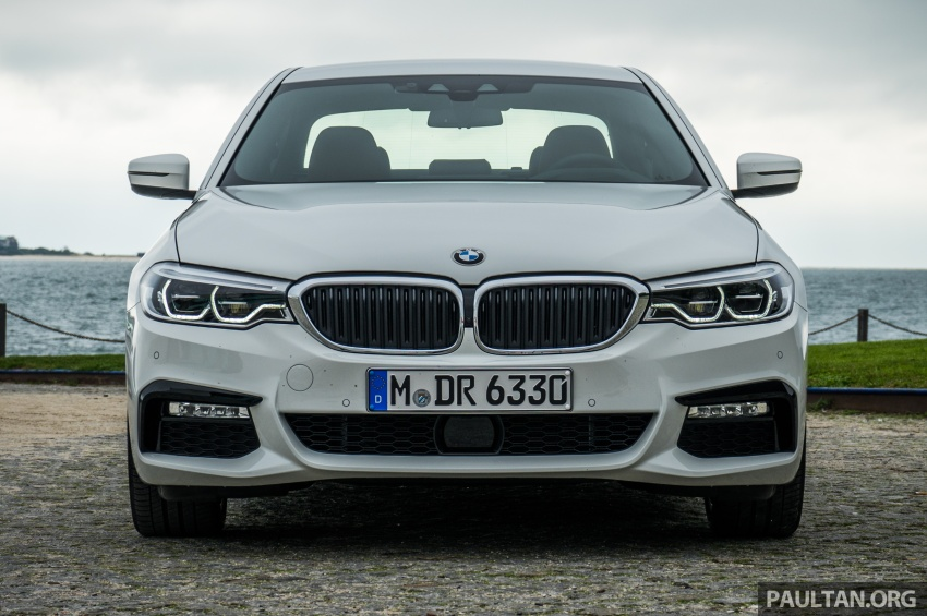 DRIVEN: G30 BMW 5 Series – raising the stakes again Image #632761