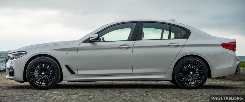 DRIVEN: G30 BMW 5 Series – raising the stakes again Image #632762