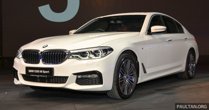 G30 BMW 5 Series launched in Malaysia: 530i, RM399k Image #636367