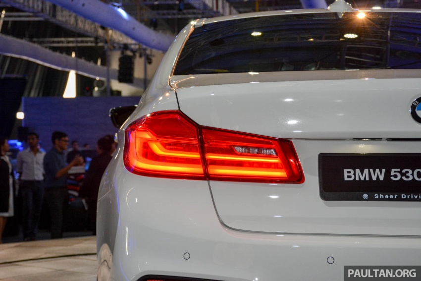 G30 BMW 5 Series launched in Malaysia: 530i, RM399k Image #636384