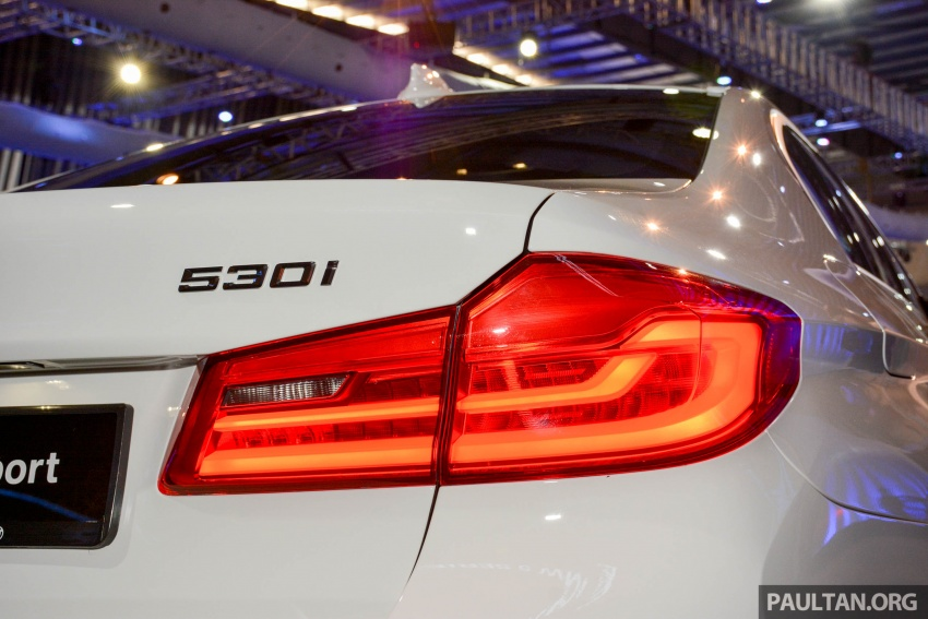 G30 BMW 5 Series launched in Malaysia: 530i, RM399k Image #636387