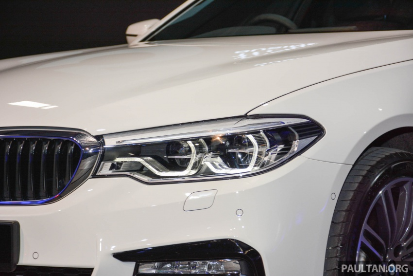 G30 BMW 5 Series launched in Malaysia: 530i, RM399k Image #636370