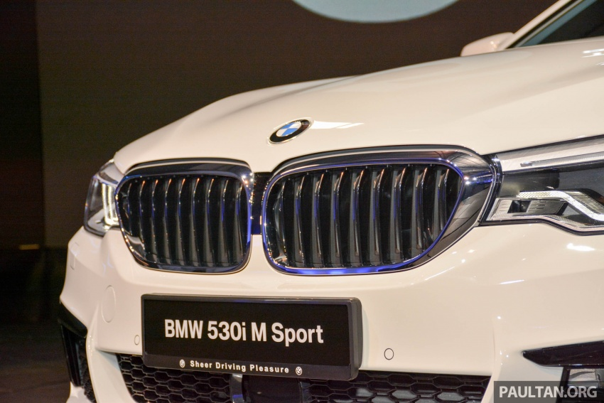 G30 BMW 5 Series launched in Malaysia: 530i, RM399k Image #636372