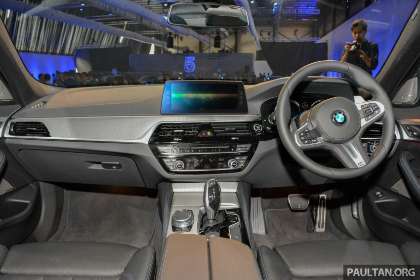 G30 BMW 5 Series launched in Malaysia: 530i, RM399k Image #636395