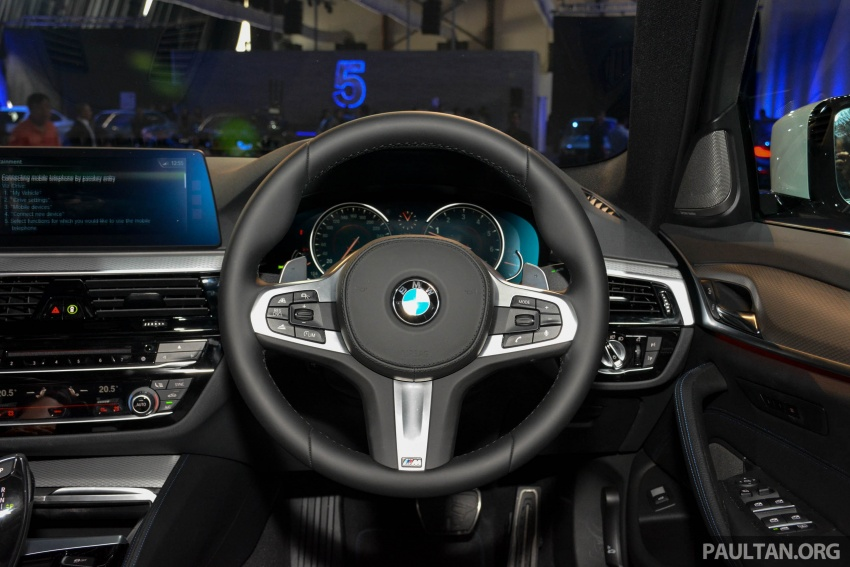 G30 BMW 5 Series launched in Malaysia: 530i, RM399k Image #636396