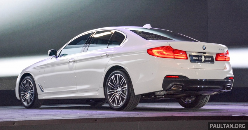 G30 BMW 5 Series launched in Malaysia: 530i, RM399k Image #636274