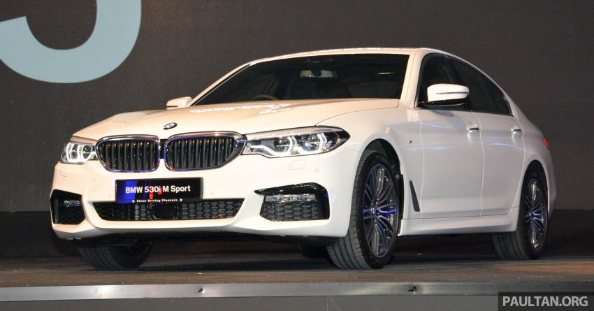 G30 BMW 5 Series launched in Malaysia: 530i, RM399k Image #636268