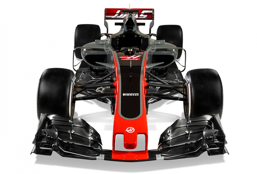 Haas VF-17 – American team unveils 2017 F1 car Image #622525