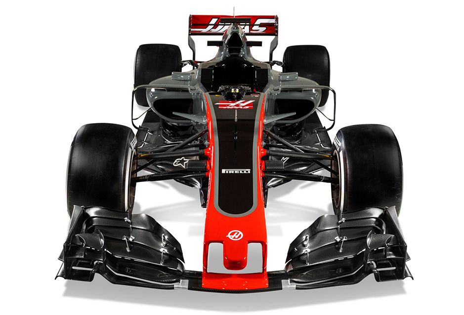 Haas VF-17 - American team unveils 2017 F1 car