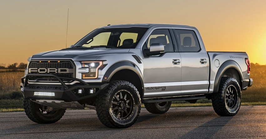 Hennessey VelociRaptor 600 Twin Turbo - 613 hp and 830 Nm of torque; 0-96 km/h in just 4.2 seconds