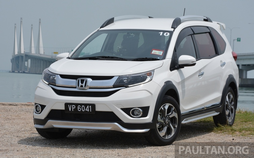 DRIVEN: Honda BR-V 1.5L – seven seats, family first Image #627242