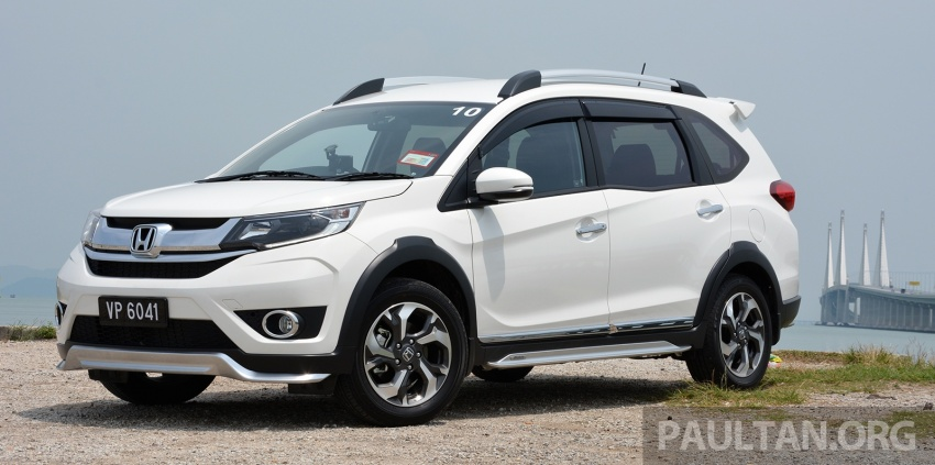 DRIVEN: Honda BR-V 1.5L – seven seats, family first Image #627243