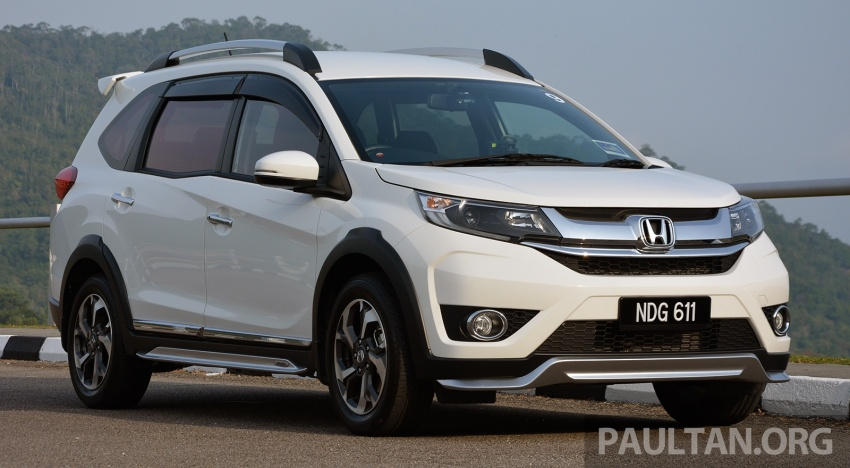 DRIVEN: Honda BR-V 1.5L – seven seats, family first Image #627267