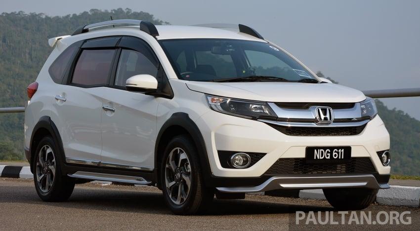DRIVEN: Honda BR-V 1.5L – seven seats, family first Image #627267