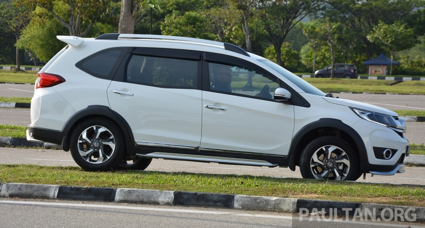 DRIVEN: Honda BR-V 1.5L – seven seats, family first Image #627274