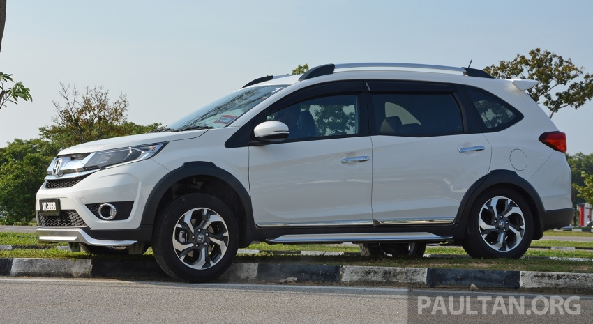 DRIVEN: Honda BR-V 1.5L – seven seats, family first Image #627275