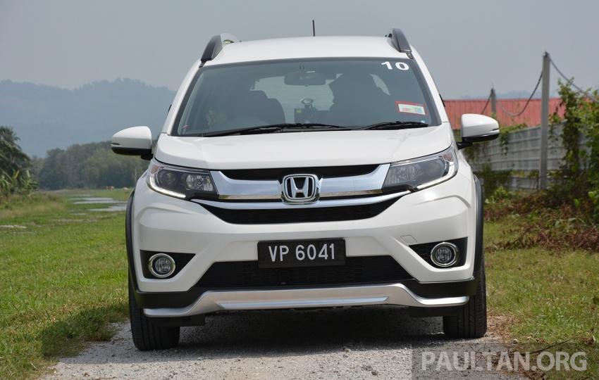 DRIVEN: Honda BR-V 1.5L – seven seats, family first Image #627244