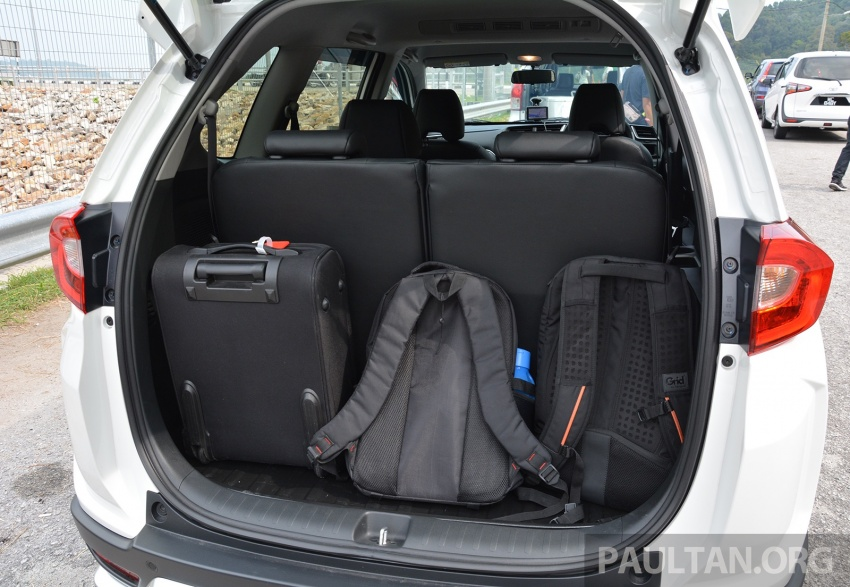 DRIVEN: Honda BR-V 1.5L – seven seats, family first Image #627246