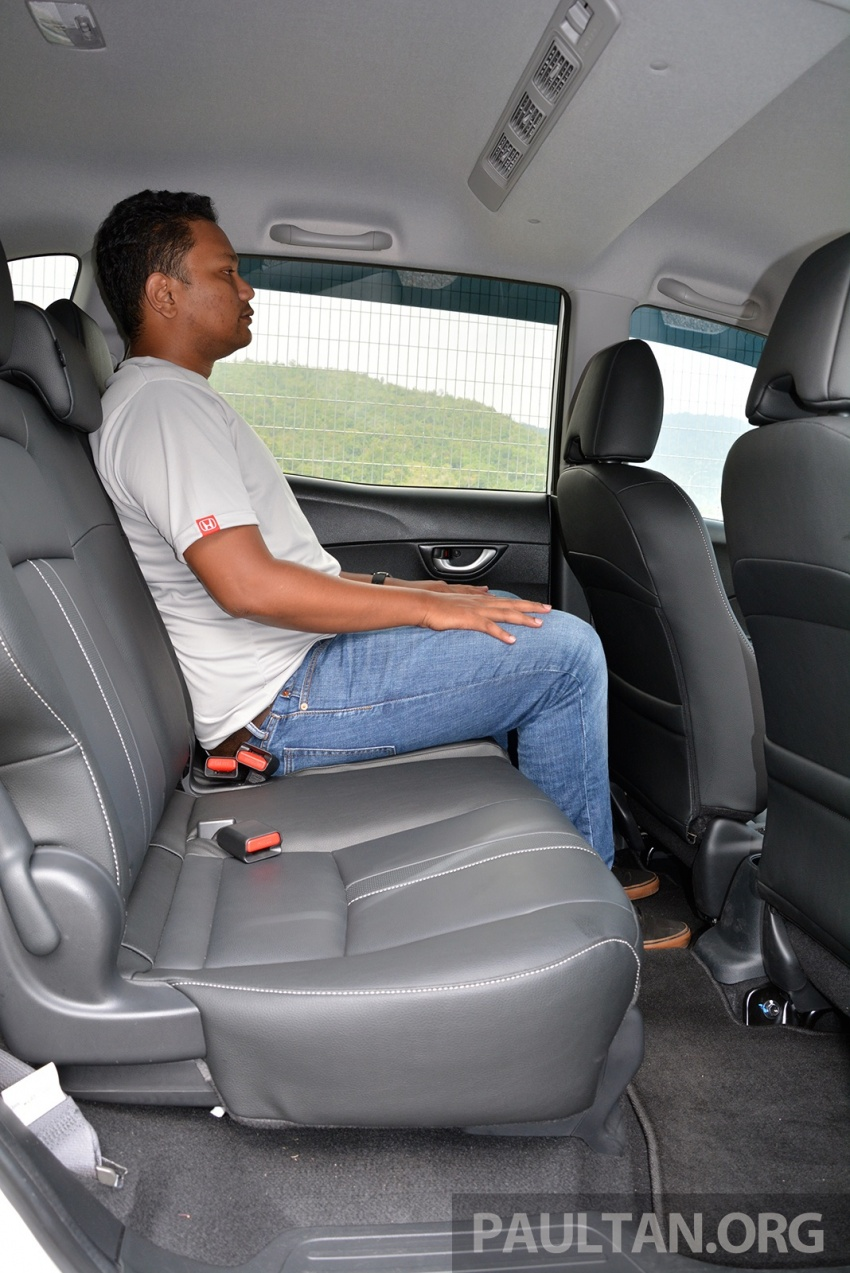 DRIVEN: Honda BR-V 1.5L – seven seats, family first Image #627247