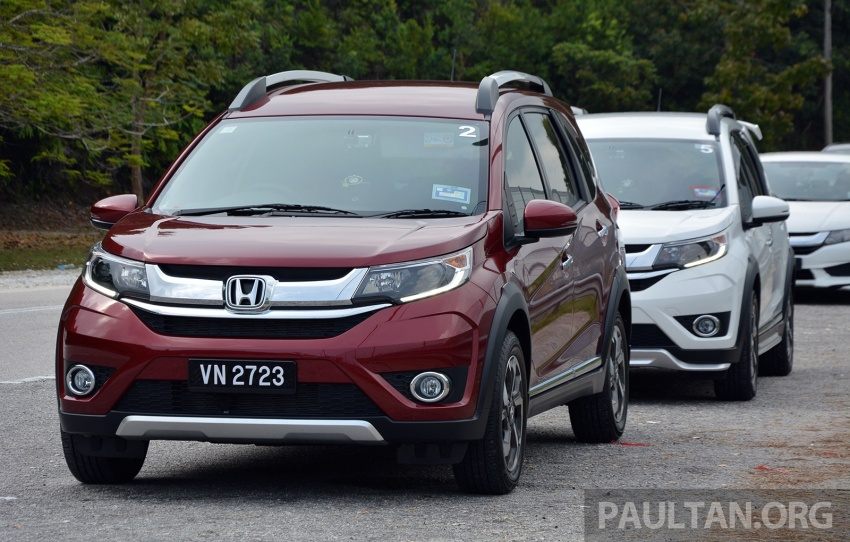 DRIVEN: Honda BR-V 1.5L – seven seats, family first Image #627248