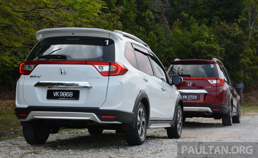 DRIVEN: Honda BR-V 1.5L – seven seats, family first Image #627250