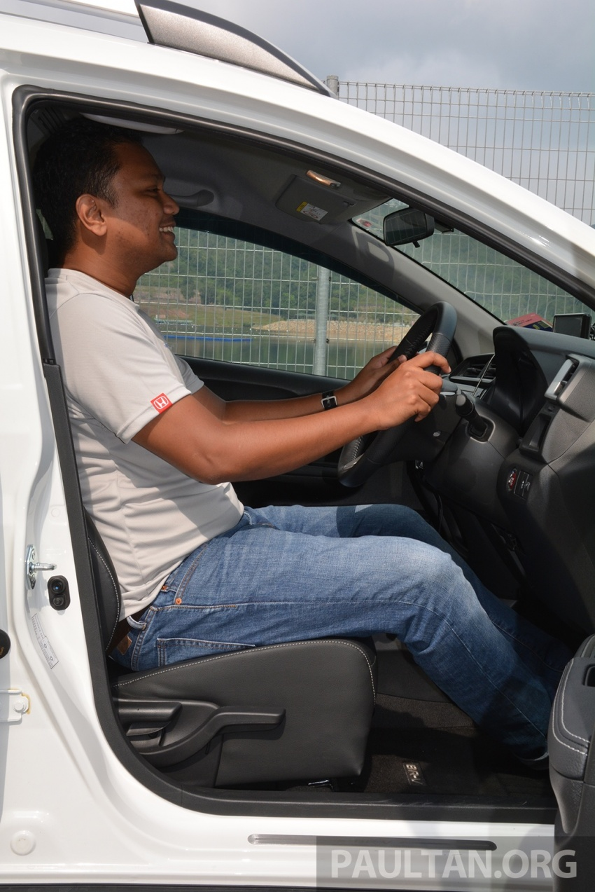 DRIVEN: Honda BR-V 1.5L – seven seats, family first Image #627251