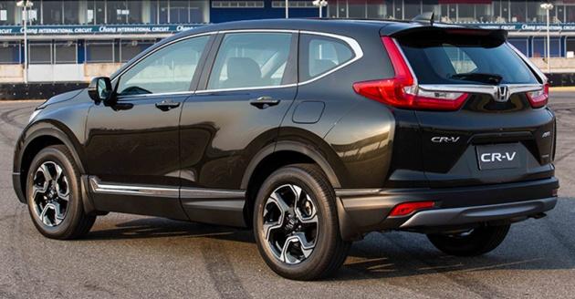 Honda Civic Hrv 2016 >> SPIED: 2017 Honda CR-V caught testing in Malaysia