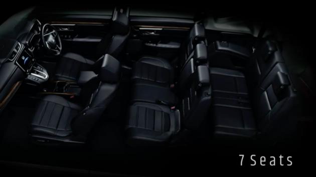 2017 Honda Cr V Teased In Thailand Diesel 7 Seats