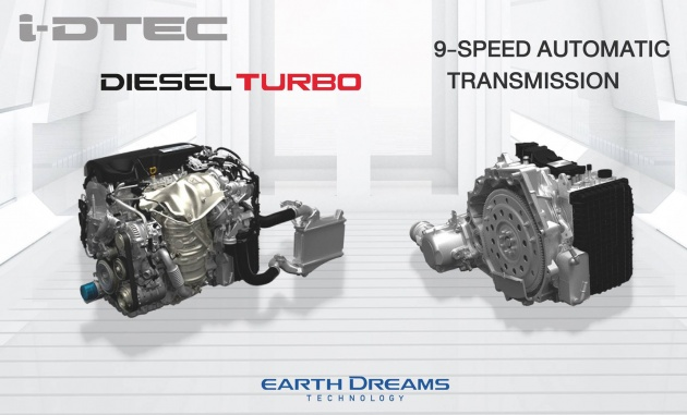 According To Honda The Engine Produces 160 Hp At 4 000 Rpm And 350 Nm Of Torque 2