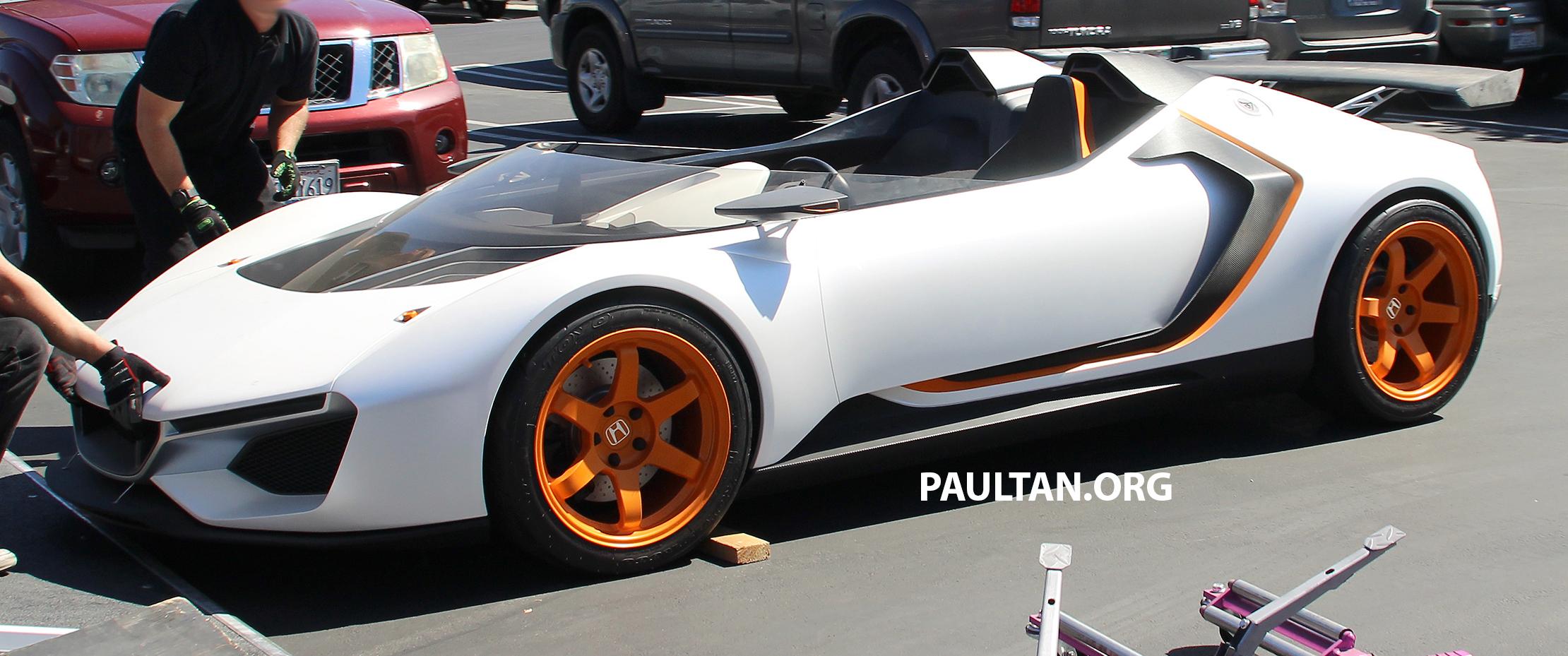 Honda S2000 Successor >> SPIED: Mystery Honda concept – S2000 successor? Paul Tan - Image 628973