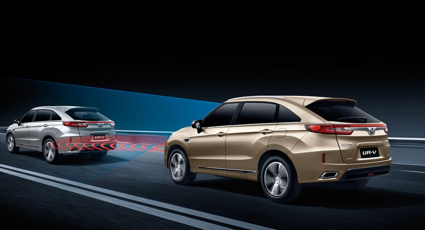 Honda UR-V launched in China – Dongfeng's Avancier Image #631576